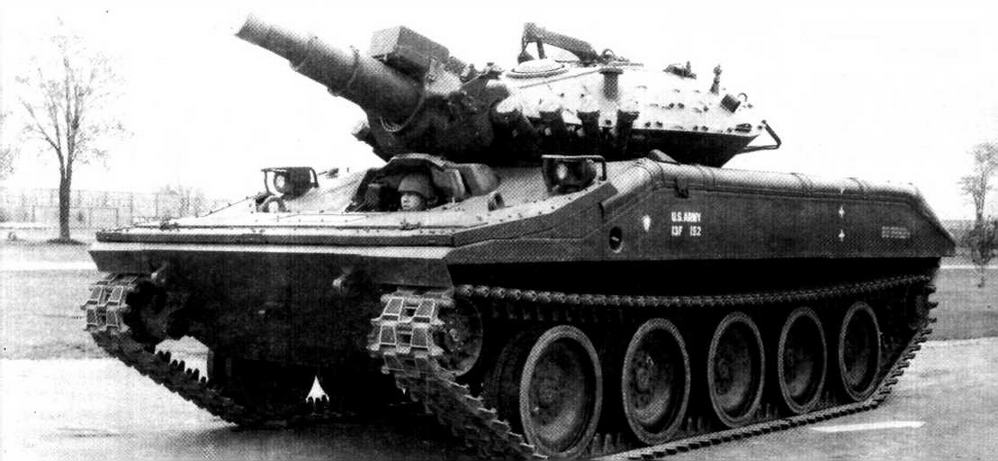 Серийный танк М551 «Шеридан»