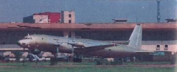 Самолет Ил-38. Взлет с Центрального аэродрома, Москва