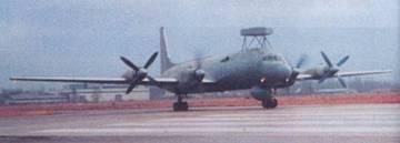 Самолет Ил-38 с антенной станции радиотехнической разведки поисково-прицельной системы «Морской змей»