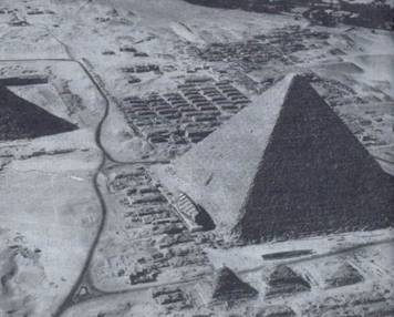 Такими видели пирамиды экипажи самолетов Ил-38