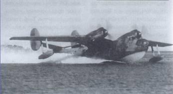 Летающая лодка Бе-6 на рулении