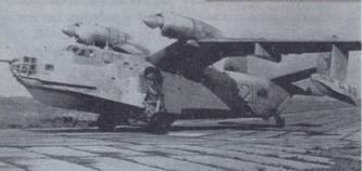 Первый самолет Бе-12, поступивший в авиацию ВМФ