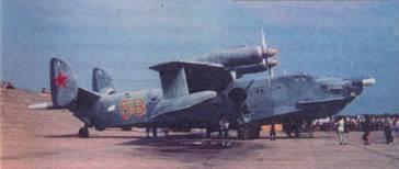 Самолет Бе-12, вид справа