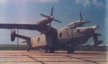 Самолет Бе-12 ВВС Украины