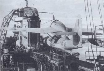 Самолет Бе-4 на крейсере