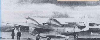 Самолет Че-2 ВВС ТОФ
