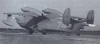 Самолет Бе-12. Вид 3/4 слева