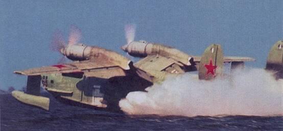Самолет Бе-12 авиации КСФ