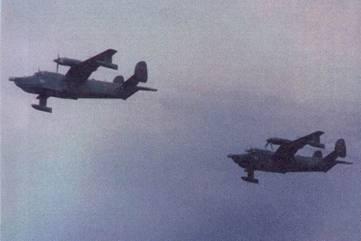 Пара самолетов Бе-12 авиации КЧФ