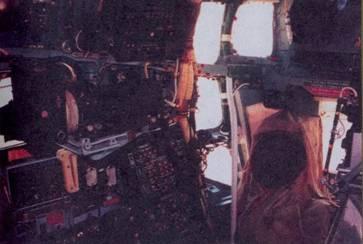 Кабина штурмана, левый борт