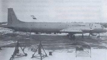 Самолет Ил-38, вид справа