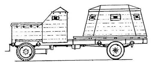 Импровизированные бронеавтомобили