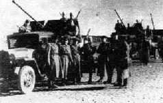 Зенитная 25-мм самоходная пушка. Волховский фронт, 1943 г.