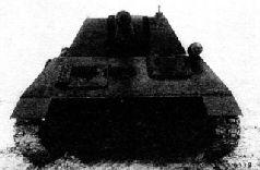 Вид боевого отделения САУ ГАЗ-71. 1942 г.