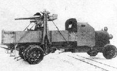 """Одно из орудий """"батареи стрельбы по воздушному флоту"""" перед отправлением на фронт, весна 1915 г."""