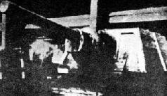 Интерьер боевого отделения СУ-152 (КВ-14). 1942 г.