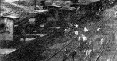 """Тяжелый артиллерийский бронетрактор """"Буллок-Ломбард"""", вооруженный английской 127-мм пушкой ВС Юга России, 1919 г."""