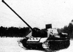 Перед совместным пробегом СУ-85 и СУ-100. Февраль 1944 г.