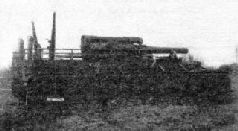 203,2-мм <a href='https://arsenal-info.ru/b/book/2995468144/5' target='_self'>самоходная гаубица</a> СУ-14-1 спереди. 1936 г.