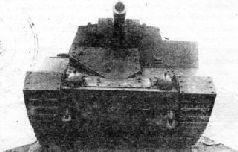Бронированная штурмовая САУ СУ-14 сзади слева. 1940 г.