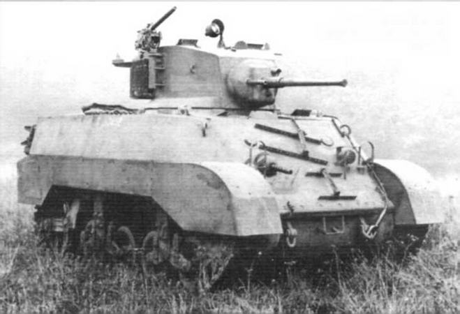 Легкий танк M3АЗ. Абердинский полигон. 1942 г.