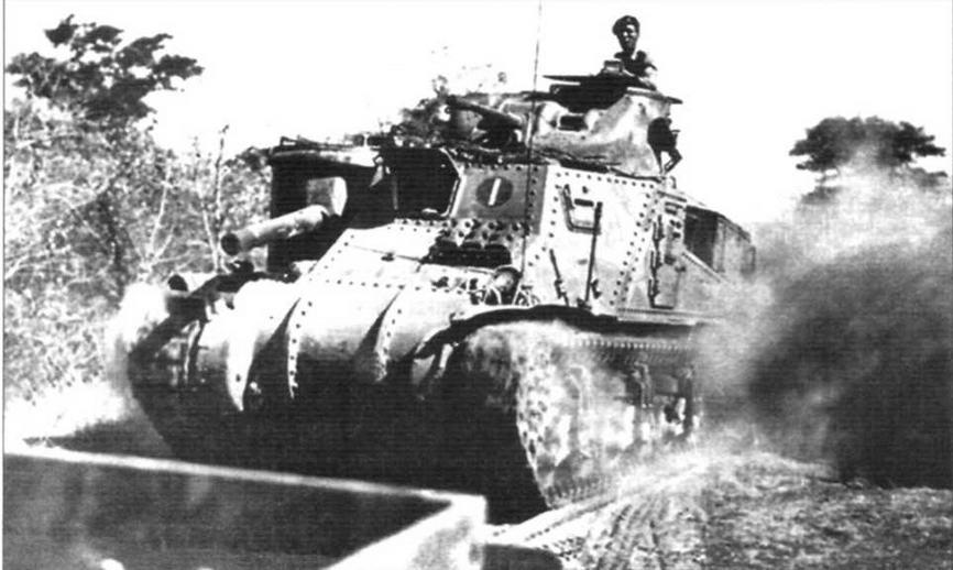 «Стюарт» М3 в Бирме. Весна 1942г. (ошибка первоисточника - на снимке средний M3)