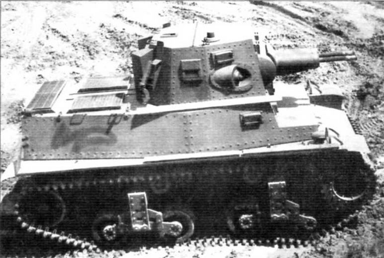 Средний танк MTLS-1G14. Выпускался по голландскому заказу в 1941—1942 гг.