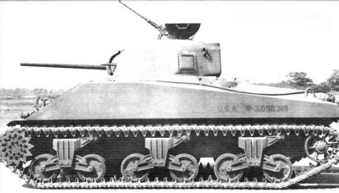 Танк «Шерман» M4A2. 1941 г.