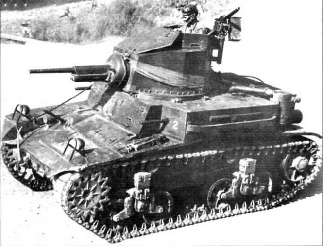 Танк М2А4. Боевая машина для пехоты
