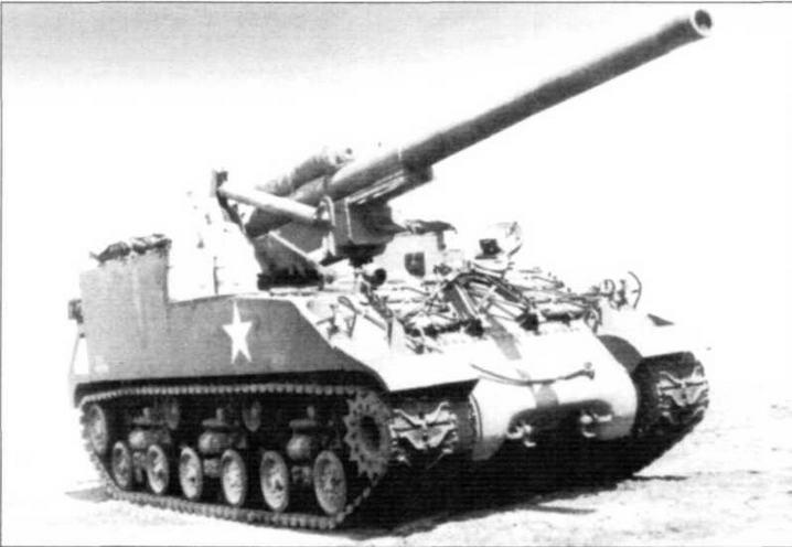САУ М40. Из всех американских самоходных установок имела наибольшую дальность стрельбы — 23,5 км