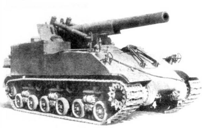 САУ М43. Дальность стрельбы — 16,8 км