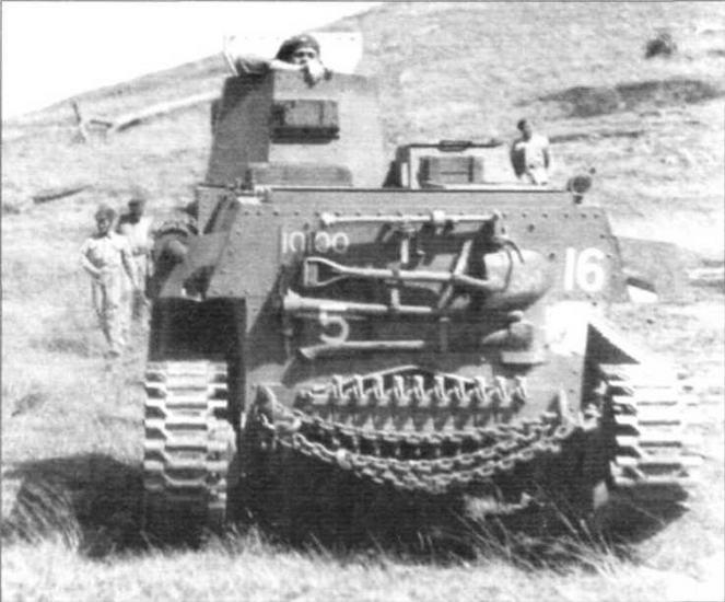 Танк CTLS-4 эскадрона «В» 2-го армейского <a href='https://arsenal-info.ru/b/book/348132256/10' target='_self'>танкового батальона</a> Австралии. 1943 г.