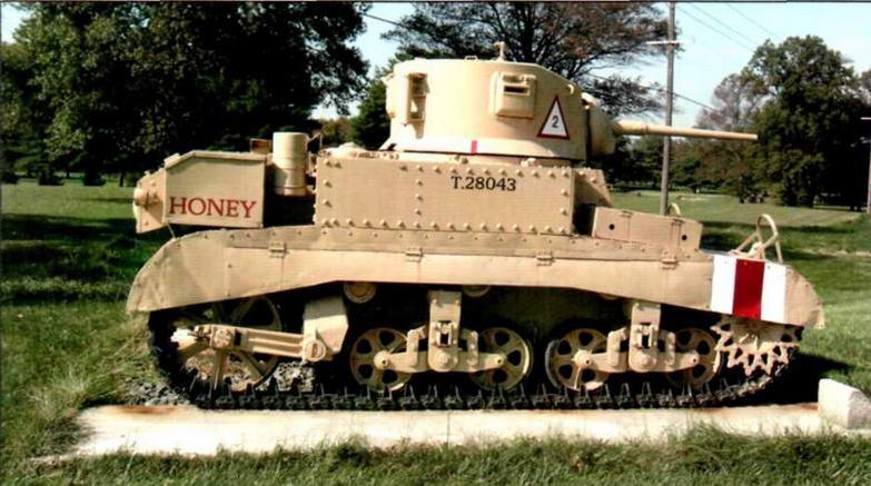 Легкий танк M3А1