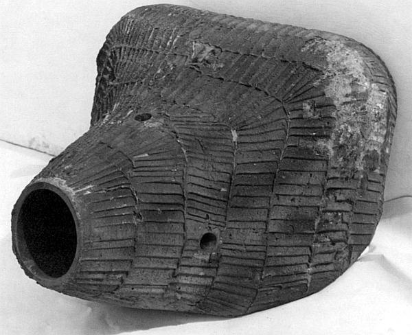 «Свиное рыло» – литая маска пушки