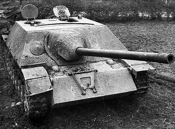 Истребитель танков Panzer IV/70 производства фирмы Vomag