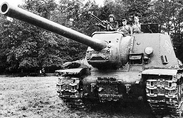 Самоходно-артиллерийская установка ИСУ-122