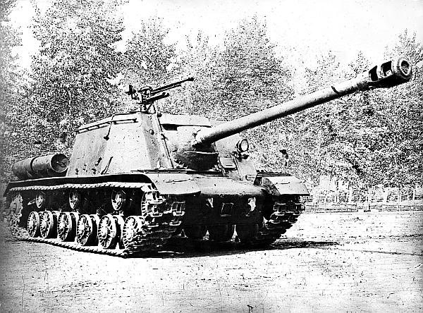 Самоходно-артиллерийская установка ИСУ-122С