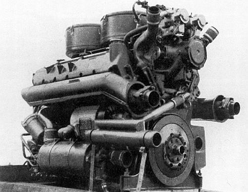 Двигатель Maybach HL-230P30