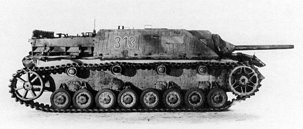 Для обеспечения большей скрытности при стрельбе со ствола пушки большинства Jagdpanzer IV свинчивали дульный тормоз