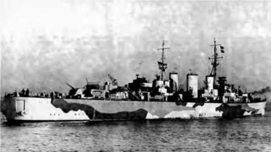"""Крейсера """"Эбдиэл"""". 1943 г."""