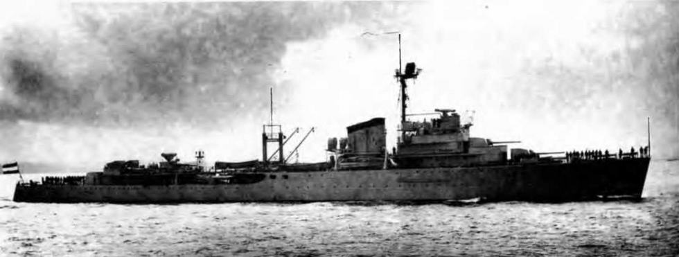 "Крейсер ""Тромп"". 1938г."
