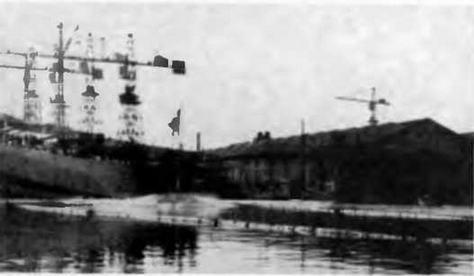 "Корпус ""Сципионе Африкано"" во время спуска на воду. 12 января 1941 г."