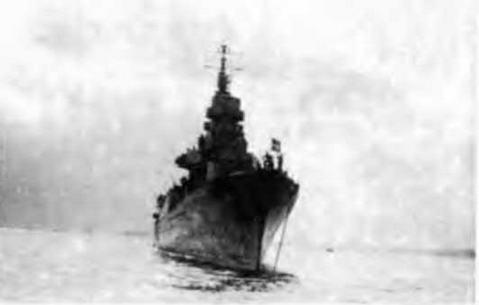 "Легкий крейсер ""Сципионе Африкано"" в 1943-1944 гг."