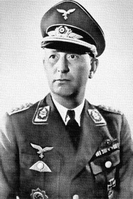 Последний начальник Академии ВВС Вернер Кпейпе
