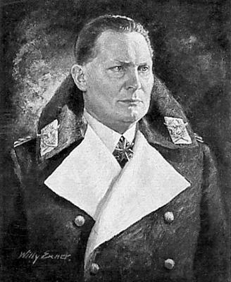 Во главе ОКЛ стоял рейхсмаршал Герман Геринг