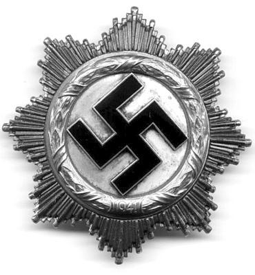 Золотой Германский крест
