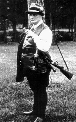 Сам страстный охотник, Геринг занимал пост имперского егермейстера и много сделал перед войной для сохранения лесов и животного мира Германии