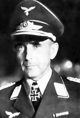 Бессменный командир полка (а затем бригады и дивизии) «Герман Геринг» Пауль Конрат