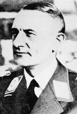 Второй командир полка «Генерал Геринг» Фридрих Вильгельм Якоби