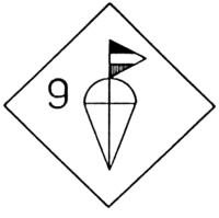 Эмблема 9-й парашютной дивизии